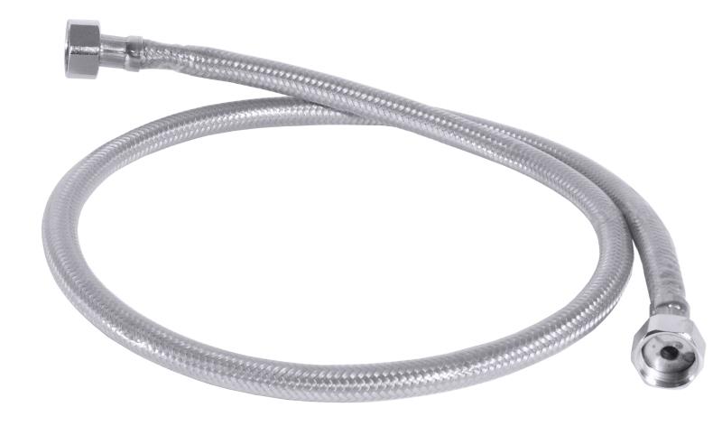 "Brauseschlauch 1/2"" 100 cm Nirogewebe-Kunststoffummantelt zu Geschirrspülbrausen"