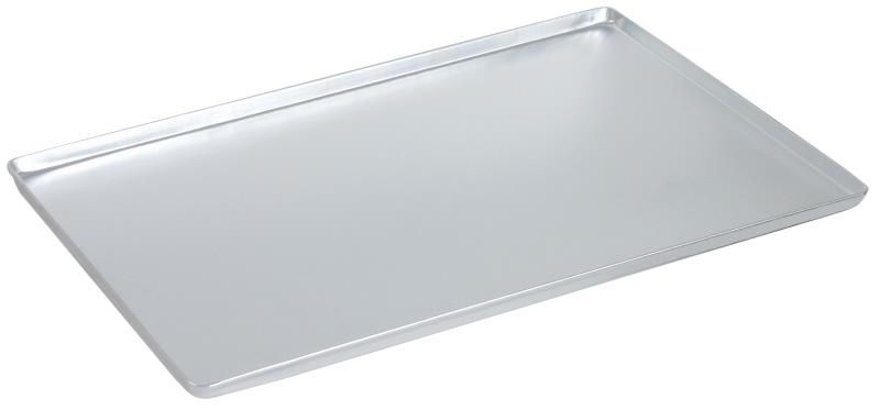 Auslageblech Aluminium 40x25cm