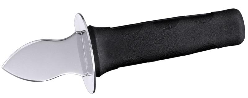 Austernbrecher 17 cm mit schwarzem PA-Griff