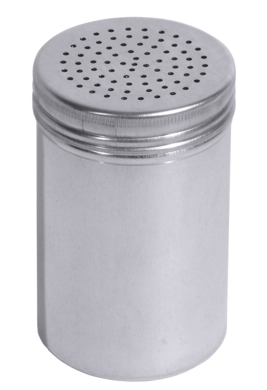 Gewürzstreuer, Aluminium