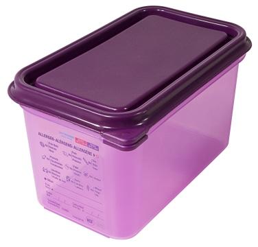 GN-Behälter 1/4, 150 mm, lila