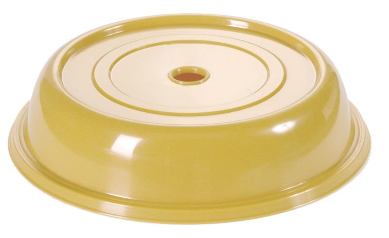 Tellerglocke 24,3 cm goldgelb