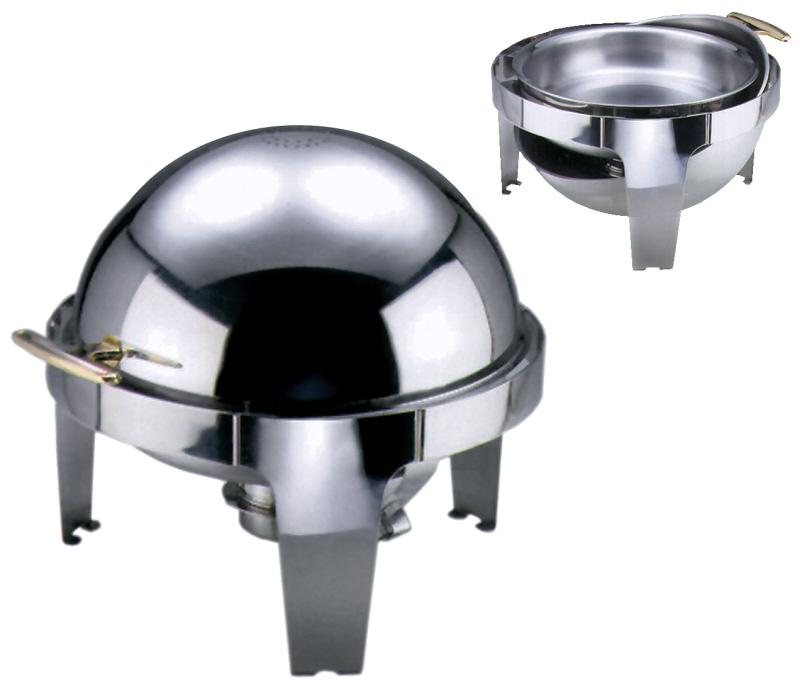 Roll-Top Chafing Dish mit elektrischer Heiz- platte (Art.7098/001)