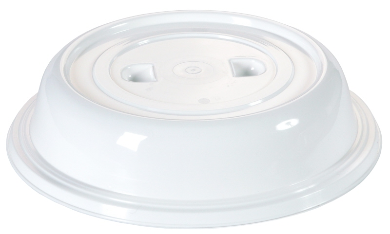 Tellerglocke 25,3 cm transparent, ohne Griffloch, mit zwei Griffmulden