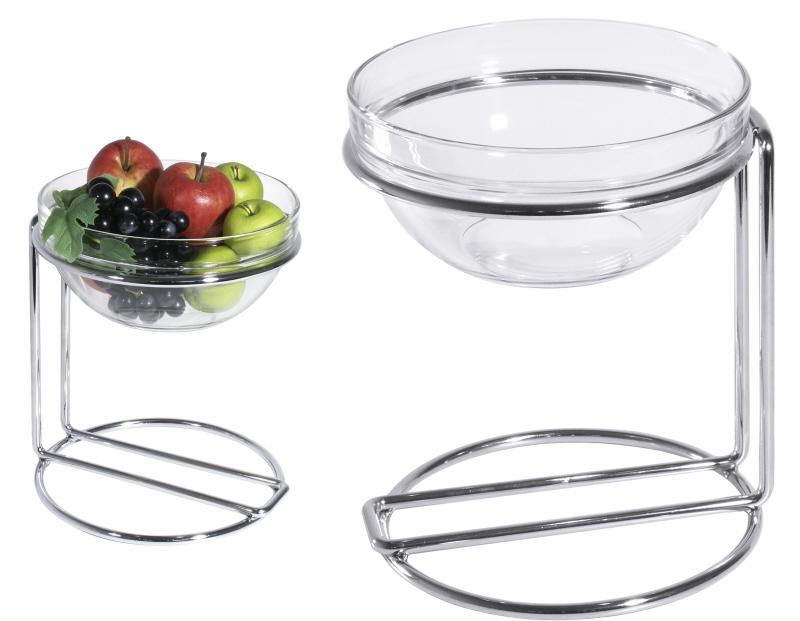 Buffetständer mit Glas 23 cm