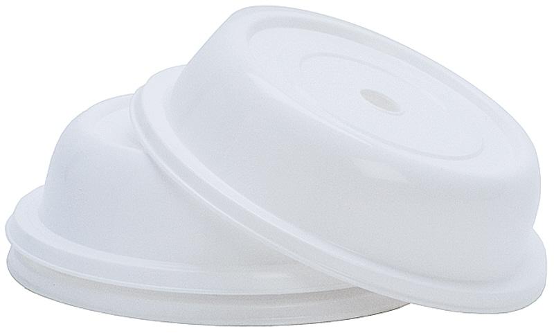 Tellerglocke 22 cm  weiß