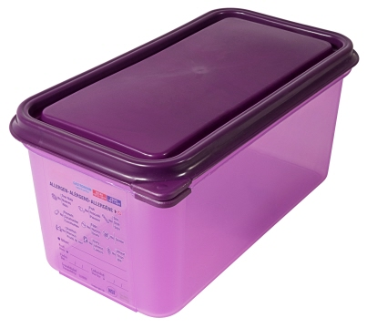 GN-Behälter 1/3, 150 mm, lila