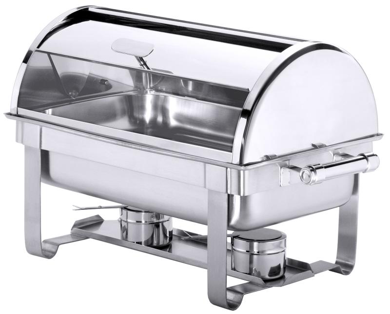 Roll-Top Chafing Dish elektrisch beheizbar