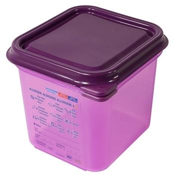 GN-Behälter 1/6, 150 mm, lila