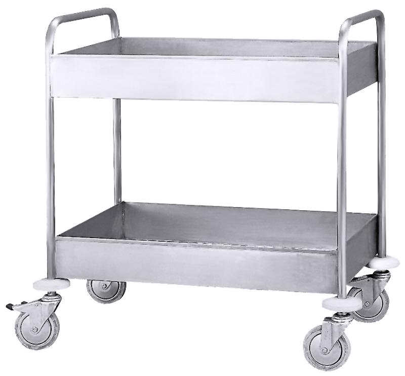 Sammelwagen für Teller