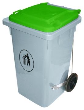 Abfalleimer 100 Liter, grün