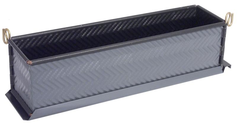 Antihaft-Pastetenform EXOPAN geriffelt 30 x 7 cm
