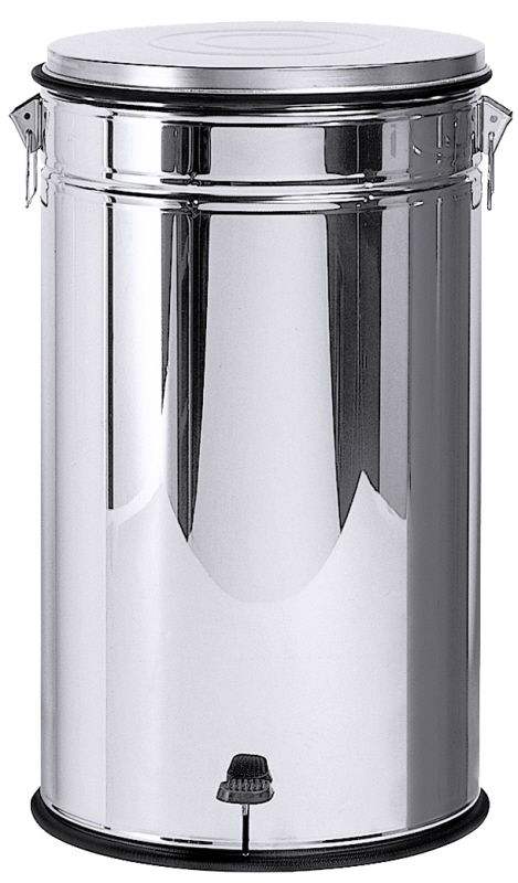 Tretabfallbehälter 80 l mit herausnehmbarem Stahlbehälter