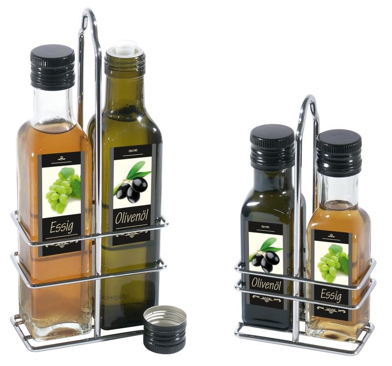 Ausgießer und Verschluss, schwarz, für Flaschengewinde 31,5 mm