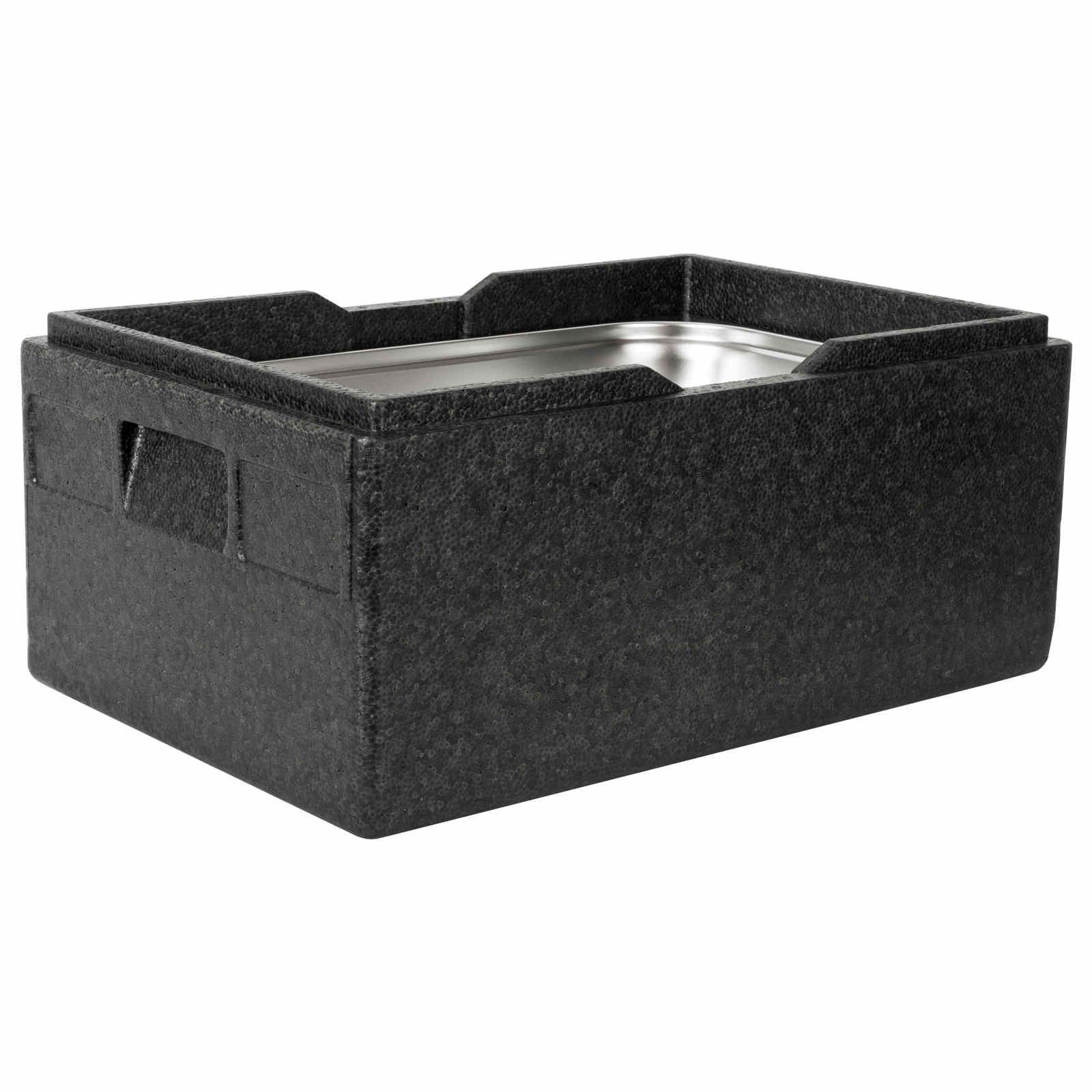 Mehrweg-Thermobox aus Piocelan GN 1/1, 600 x 400 x 283 mm