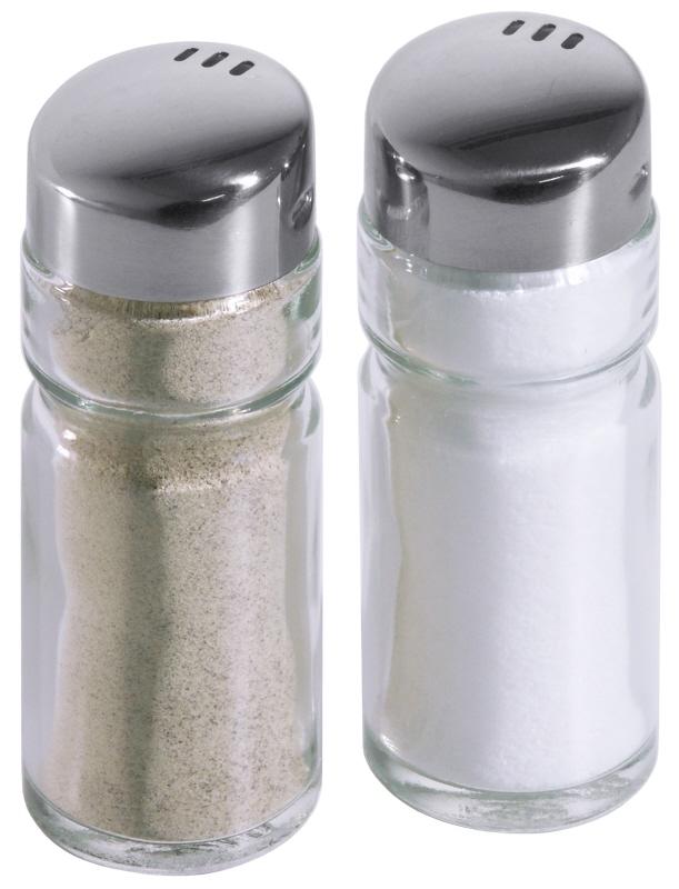 Ersatzgläser Salz/Pfeffer zu Menage 1411/002 à 12 Stück