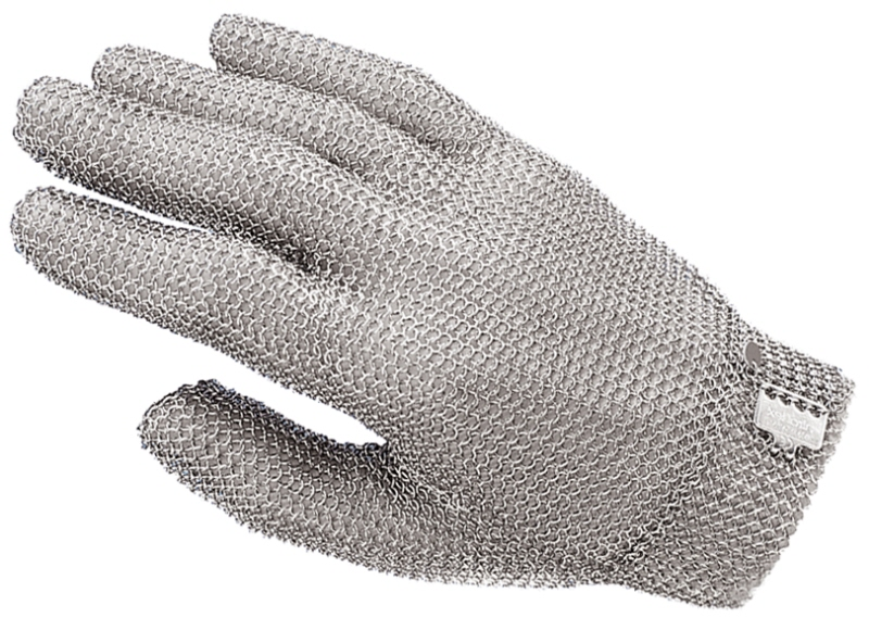 Stechschutzhandschuh, einzeln Größe 2 M (rot)