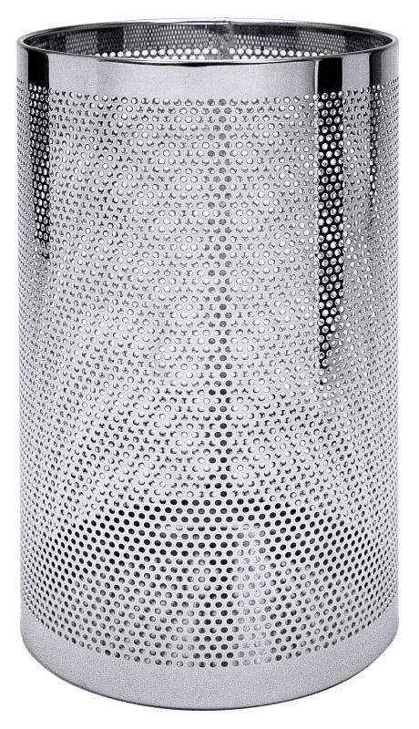 Papierkorb / Schirmständer perforiert, 50 cm Höhe