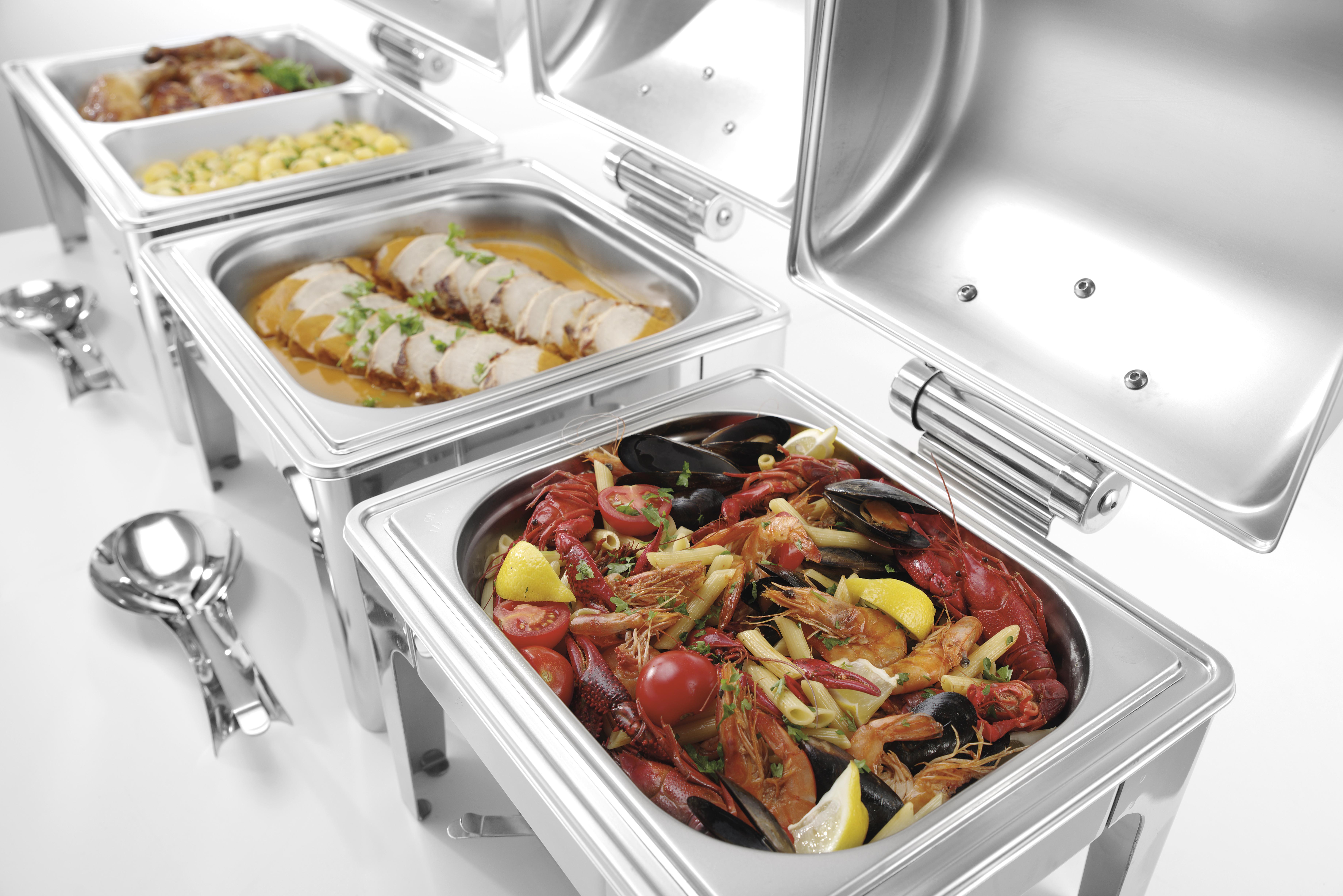 Chafing Dish GN 1/2 Hochglanz Finish